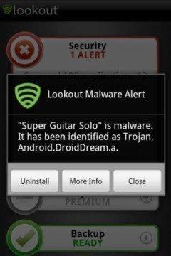 Bezpečnostní balík společnosti Lookout