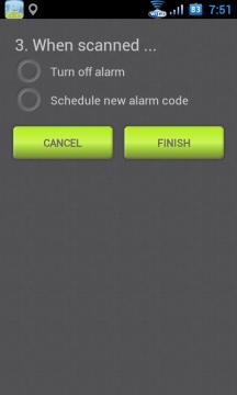 Ve třetím kroku si můžete vybrat, zda se má následně budík vypnout, nebo jestli si přejete nastavit další buzení