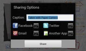 Nová verze přináší možnost sdílení pořízených snímků na různých sociálních sítích