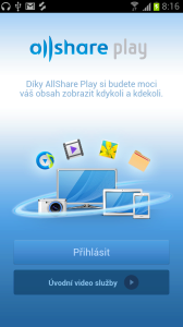 Aplikace AllShare Play