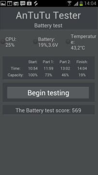 Výsledky v Antutu Testeru