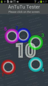 Displej SGS3 zvládne zachytit a interpretovat dotek až deseti prstů.