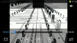 Aplikace Videopřehrávač