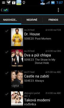 Seriály, jejichž nové epizody budou vysílány v nejbližších dnech