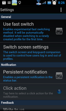 SwitchMe Root Profile Manager
