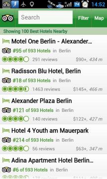 A zde máme přehled hotelů v okolí