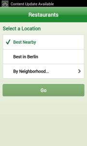 Najděte si nejbližší nebo nejlepší restauraci