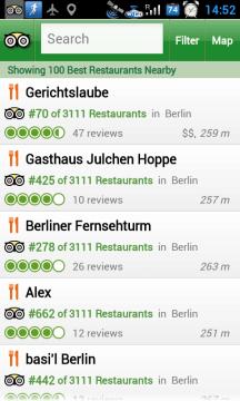 Přehled restaurací ve vašem okolí