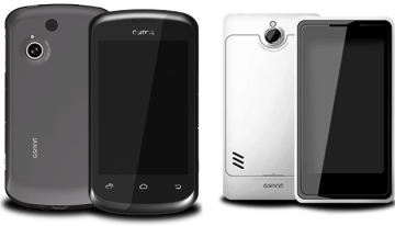 Nové telefony Gigabyte
