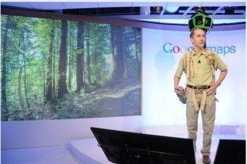 Google StreetView batoh