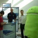 Stánek Samsung – Android RoadShow 2012 Praha