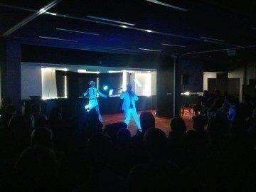 UV show – překvapení – Android RoadShow 2012 Praha