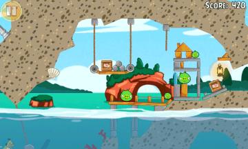 Aktualizace Angry Birds Seasons přidává 30 úrovní Piglantis