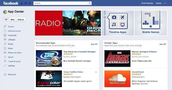 facebook-app-center-app-store