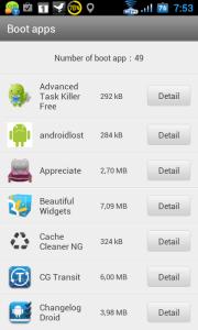 Skenování aplikaci, spouštěných společně se systémem