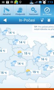 Sekce In-Počasí otevírá webové stránky