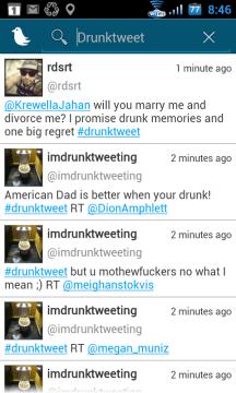 Vyhledávání ve tweetech