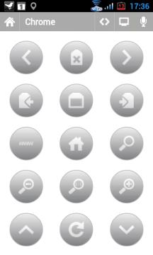 Dálkové ovládání pro prohlížeč Chrome