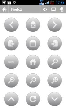 Dálkové ovládání pro prohlížeč Firefox