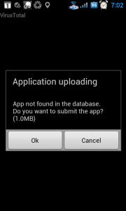 Souhlas s odesláním aplikace k testování...