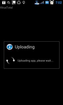 ...a aplikace se odesílá