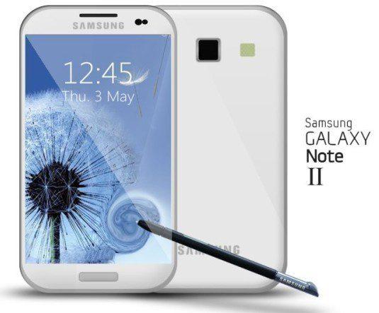 Galaxy Note 2 Concept Image
