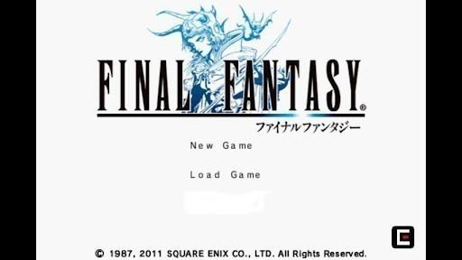 final fantasy main