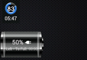 Widgety GSam Battery Monitoru