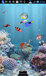 aniPet Aquarium LiveWallpaper