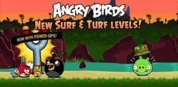 Aktualizace Angry Birds přináší 15 nových tropických levelů a čtyři pomocníky