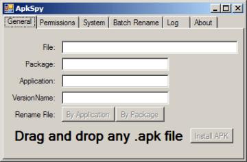 Stačí přetáhnout soubor APK, a dozvíte se o něm vše, co potřebujete vědět