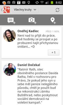 Google+ v praxi