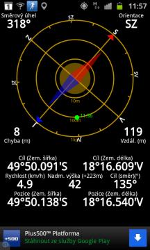 Kompas viděl sever vždy vpravo