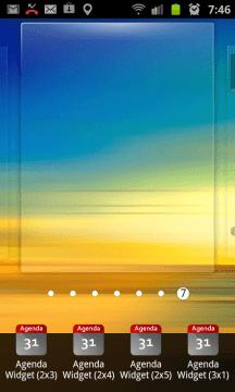 Přidání widgetu na plochu je běh na dlouhou trať