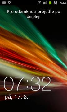 Odemykací obrazovka ve stylu TouchWiz