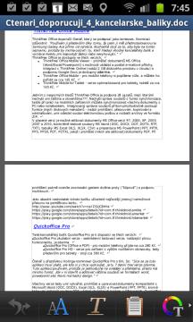 Editace textového dokumentu