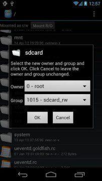 Root Explorer 2.21 přináší Holo UI