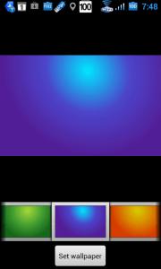 Nabídka Android Smart Wallpaper