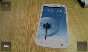 Jak by ladil Samsung Galaxy S III k mému stolu? :)