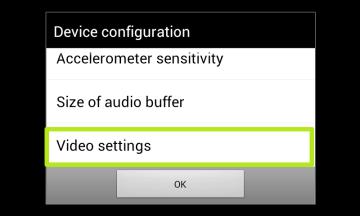 V aDosBoxu jděte do nastavení Video Settings