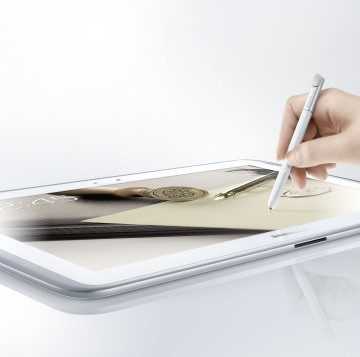GALAXY Note 10.1 Product Image_Main White