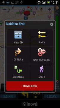 Nabídka jízdy