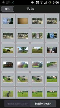 Výběr souřadnic z fotografií