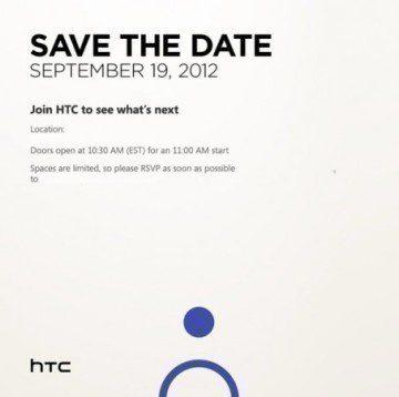 HTC připravuje na 19. září tiskovou konferenci