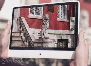 Údajný připravovaný tablet HTC