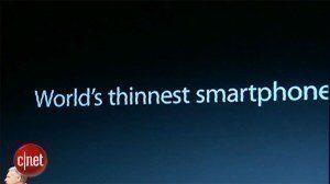 Apple neříká pravdu: iPhone 5 není nejtenčí na světě