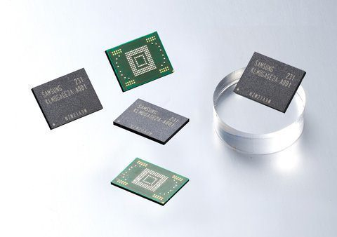 Nové interní paměti od Samsungu