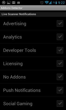 Majitelé placené verze mohou nastavit Livescan Monitor;