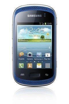 Samsung Galaxy Music v modré