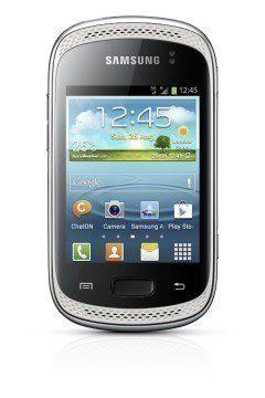 Samsung Galaxy Music ve stříbrné